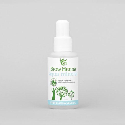 Aqua mineral of high purity BH Brow Henna