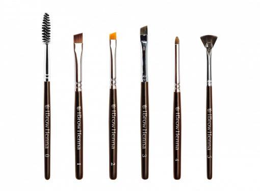 BH Brow Henna brush set (6 brushes)