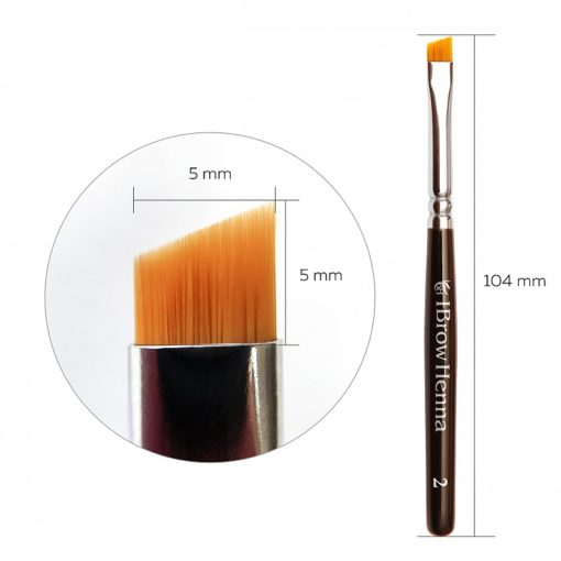 Brush superfine BH Brow Henna No 2