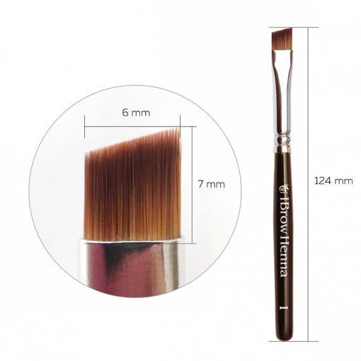 Brush superfine BH Brow Henna No1