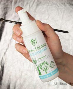 Shampoo för ögonbryn och ögonfransar BH Brow Henna1