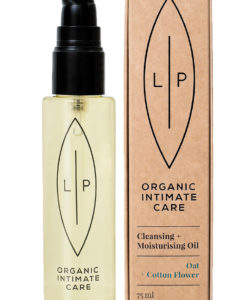 Lip Organic Care Oat Cotton Flower