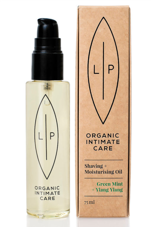 Lip Organic intimate care Green Mint Ylang Ylang